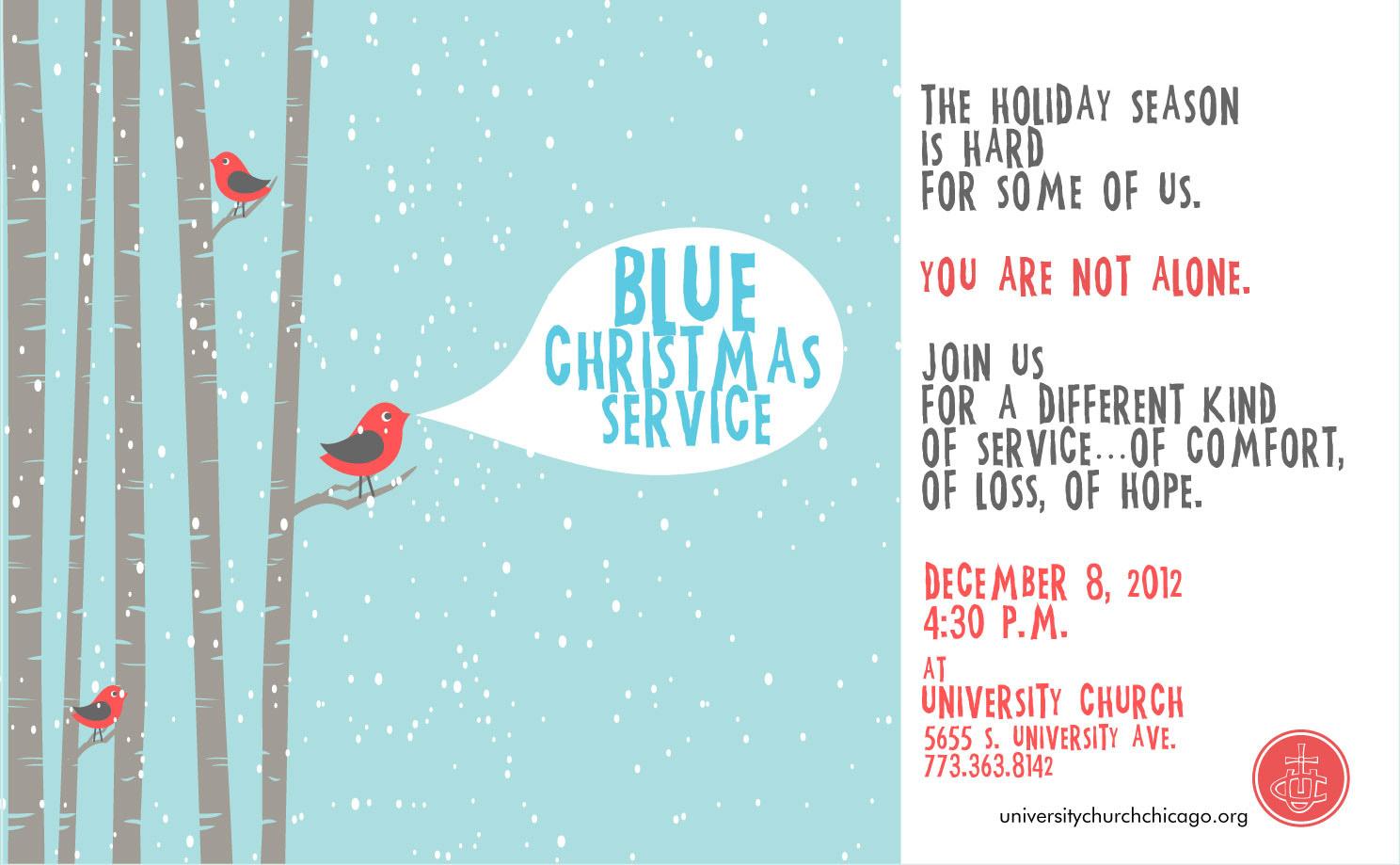 128 blue christmas worship service university church of chicago - Blue Christmas