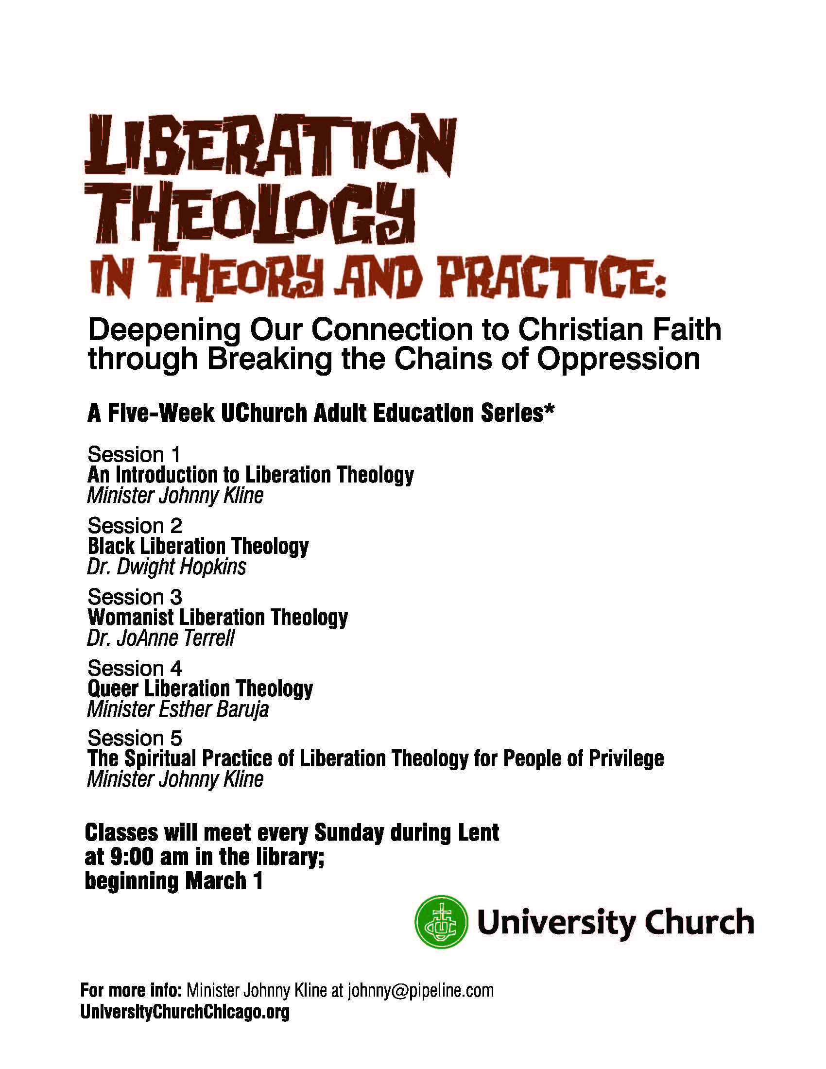essays on liberation theology What is liberation theology should freedom from poverty be the focus of the christian church.