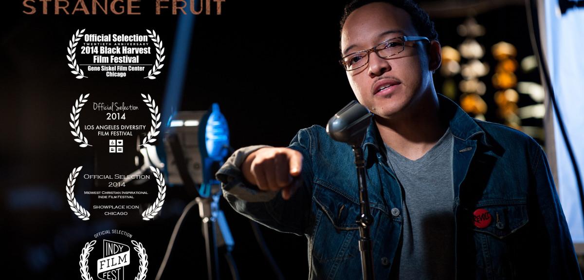 Pastor Julian DeShazier wins Emmy award for video Strange Fruit.